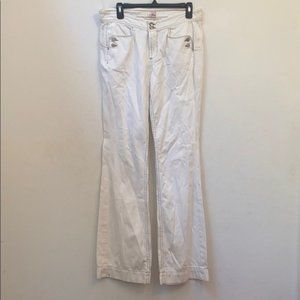 NWOT Joie white trousers
